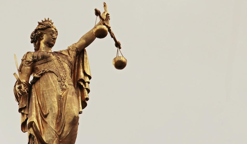 Foto: Justizia, Symbol der Gerechtigkeit