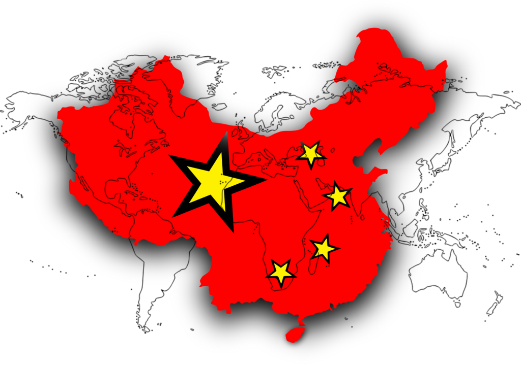 Bild Landkarte China