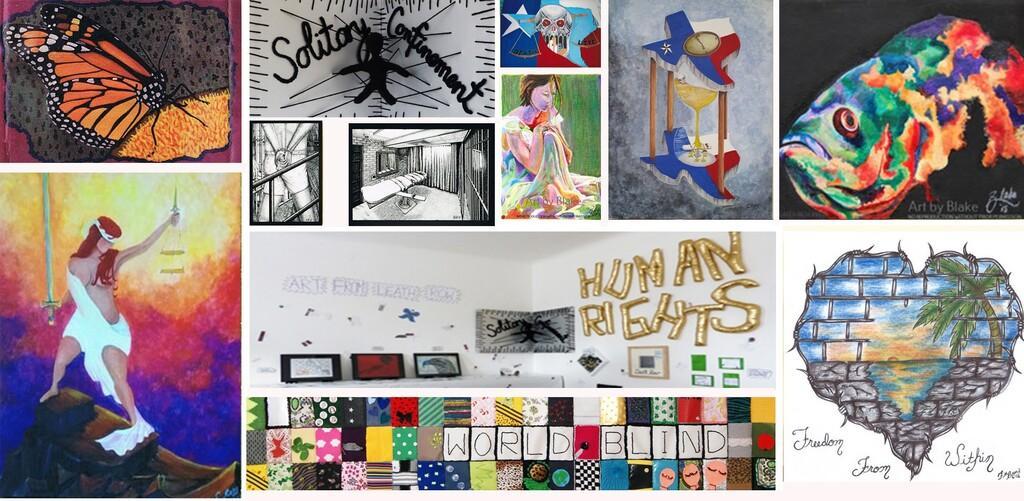 Kunst aus dem Todestrakt Collage