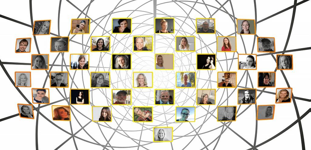 Collage: Mitglieder der Initiative gegen die Todesstrafe e.V.