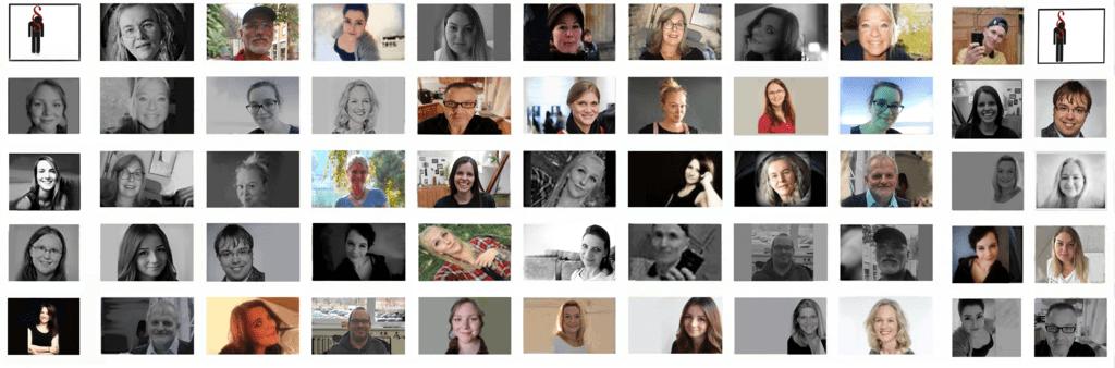 Collage Mitglieder der Initiative gegen die Todesstrafe e.V.